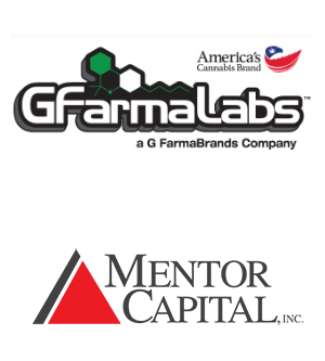 Mentor Capital Invests $1 Million in G FarmaLabs